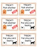 Halloween Sight Word Phrase Game Set Three