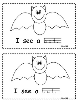 Halloween Sight Word Reader (I, see, the, a)