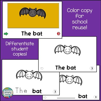Sight Word Leveled Readers and Activities: Halloween!