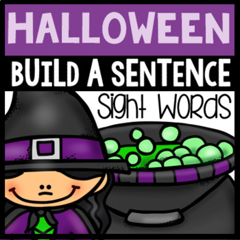 Halloween Sight Word Sentences
