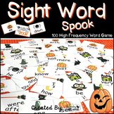 """Sight Word Activities """"Sight Word Spook"""" - 100 Sight Words Reading Game"""