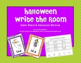 Halloween Sight Word Write the Room