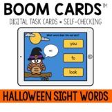 Halloween Sight Words BOOM CARDS™