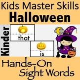 Halloween Sight Words - Hands-On Activities (100 Sight Words)
