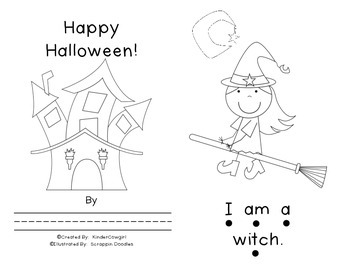 Halloween Sight Work Book