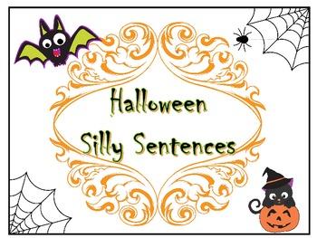Halloween Silly Sentences