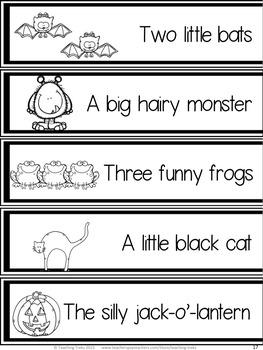 Halloween Activities: Language Activities for Kinder Kids