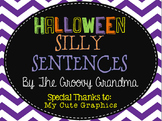 Read, Write, Laugh Halloween Silly Sentences