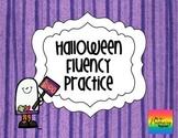 Halloween Silly Sentences {Fluency Practice}