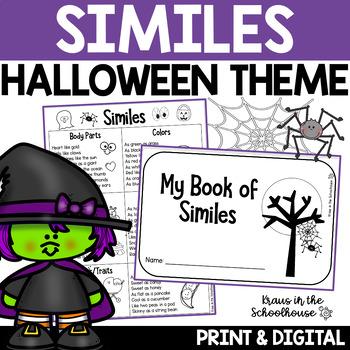 Halloween Similes Activities