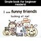 Halloween Simple Reading for Kindergarten