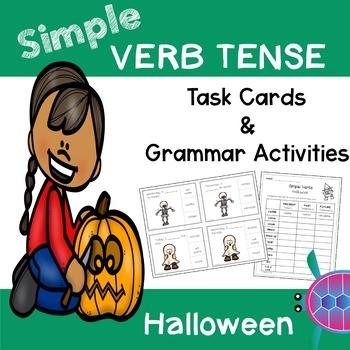 Simple Tense Verbs - Halloween