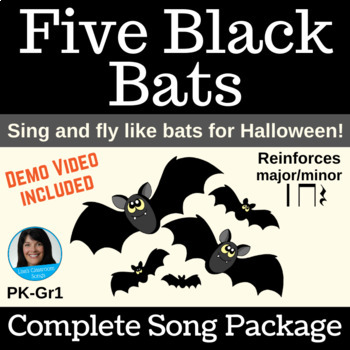 """Halloween Singing Dramatization  
