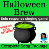 Halloween Song & Game Activity Includes mp3s, Music, Lessons, SMART & Video