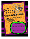 Halloween Singular and Plural Nouns