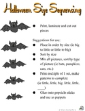 Halloween Size Sequencing