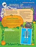Halloween Skeleton Activities Grades 1-3