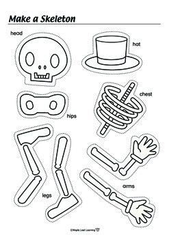 Halloween Skeleton Activity