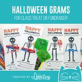 Halloween Skeleton Candy Grams   Boo Grams   Class Treat o