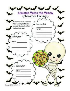 Halloween: Skeleton Meets the Mummy