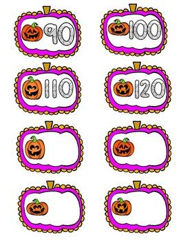 Halloween Skip Counting