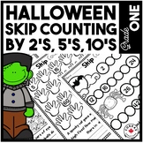 Halloween Math | Skip Counting by 2's | 5's | 10's