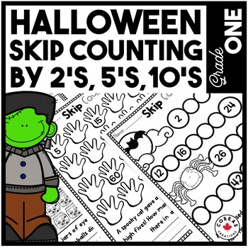Halloween Skip Counting {2's, 5's, 10's}