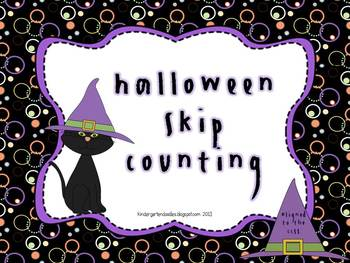 Halloween Skip Counting by 2s, 5s & 10s