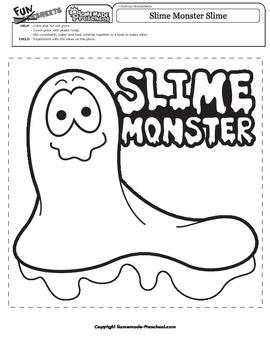Halloween: Slime Monster Slime