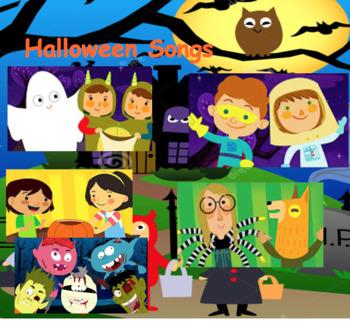 Halloween Smart Board Songs!