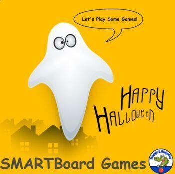 Halloween Activities - Language Arts Activity for Smart Board