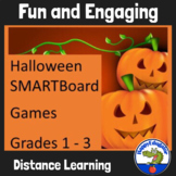Halloween Language Arts Activities and Games for Smartboard