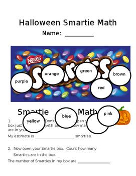 "Halloween ""Smartie"" Math"