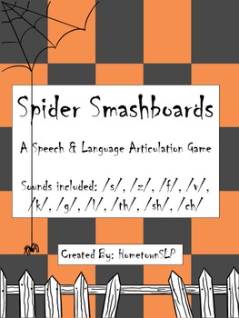 Halloween Smash- An Articulation Game