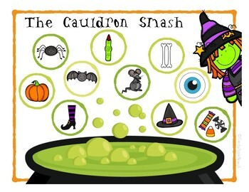 Halloween Smash Mats & Play Dough Recipe