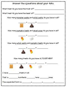 Halloween Snack Mix Math!!