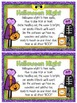 Halloween Snack Mix -  Monster Munch {Fun Poem} and {Bag Toppers}