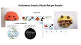 Halloween Snack Visual Recipe/Directions Bundle