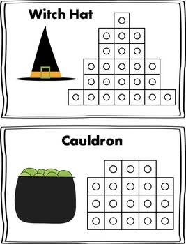 Halloween Snap Cube Activity {FREEBIE}