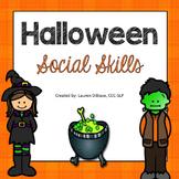 Halloween Social / Pragmatic Skills Packet!