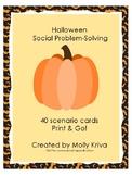Halloween Social Problem Solving