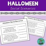 Halloween Social Scenarios: 70 scenarios for speech therap