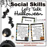 Halloween  Social Skills Task Cards
