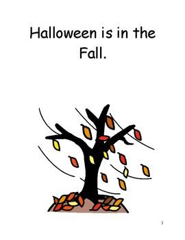 Halloween Social Story
