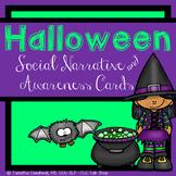 Halloween Social Narrative and Disability Awareness Cards: