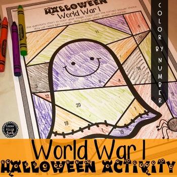 Halloween Social Studies Activity (SS5H2, SS5H2a)
