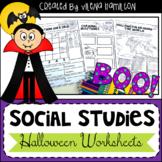Halloween Social Studies Worksheets