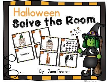 Halloween Solve the Room