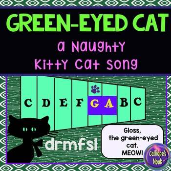 Halloween Song with ta ti-ti za: sung to Naughty Kitty Cat