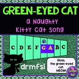 Halloween Song with ta ti-ti za: sung to Naughty Kitty Cat